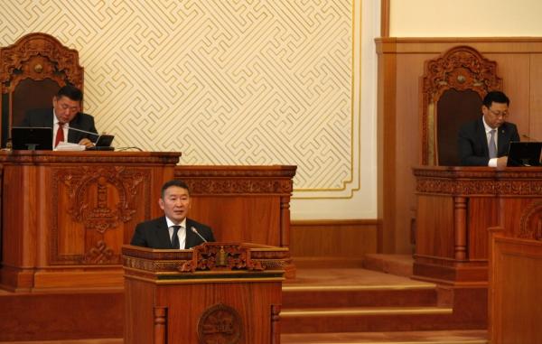 2017 оны УИХ-ын намрын чуулганы нээлт дээр Монгол Улсын Ерөнхийлөгч Х.Баттулгын хэлсэн үг