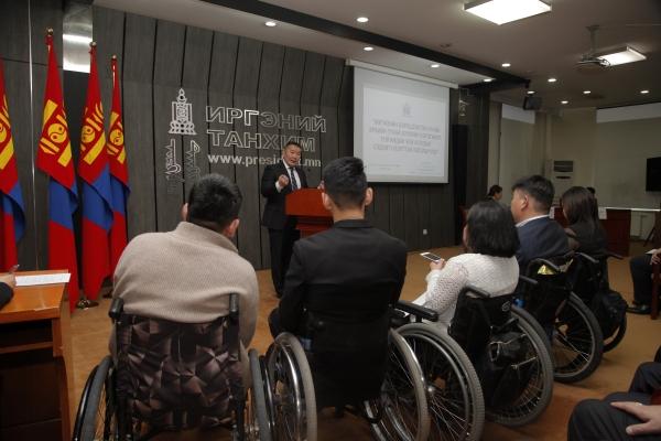 Монгол Улсын Ерөнхийлөгч Х.Баттулга: Хөгжлийн бэрхшээлтэй иргэдийг нийгэмд баялаг бүтээгч болгон төлөвшүүлэхийг эрмэлзэх болсонтой би санал нэг байдаг