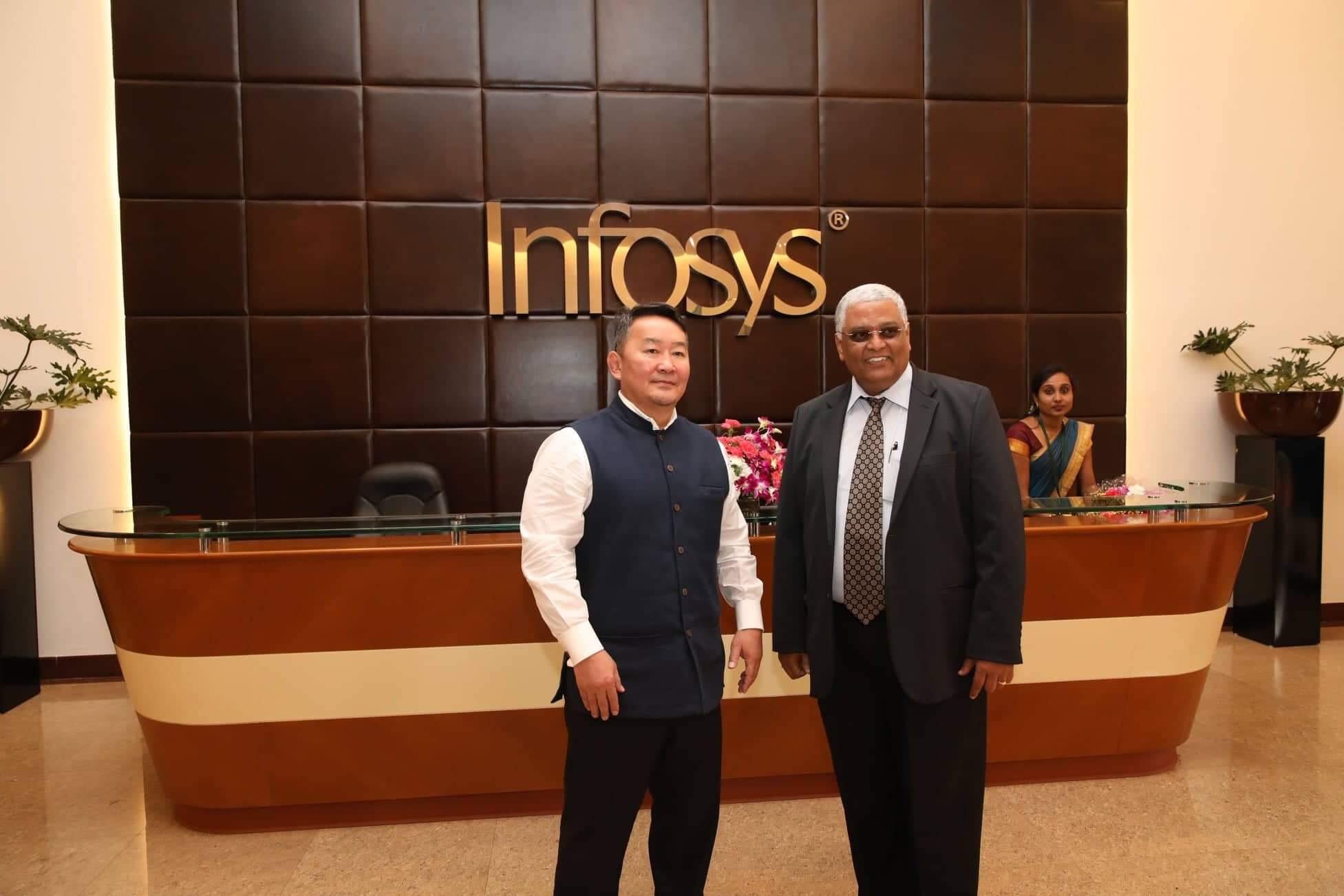 Монгол Улсын Ерөнхийлөгч Х.Баттулга БНЭУ-ын тэргүүлэх компаниудаар зочиллоо