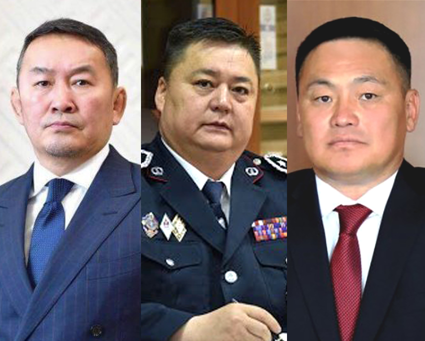 Монгол Улсын Ерөнхийлөгч Х.Баттулга ТЕГ-ын дарга П.Одонбаатар, ЦЕГ-ын дарга Ж.Болд нартай уулзав