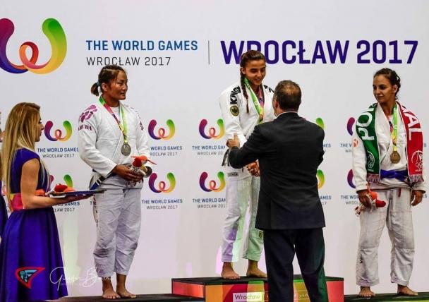 М.Баярмаа: Дэлхийн наадамд эх орноо төлөөлөн оролцоод мөнгөн медаль хүртсэндээ баяртай байна