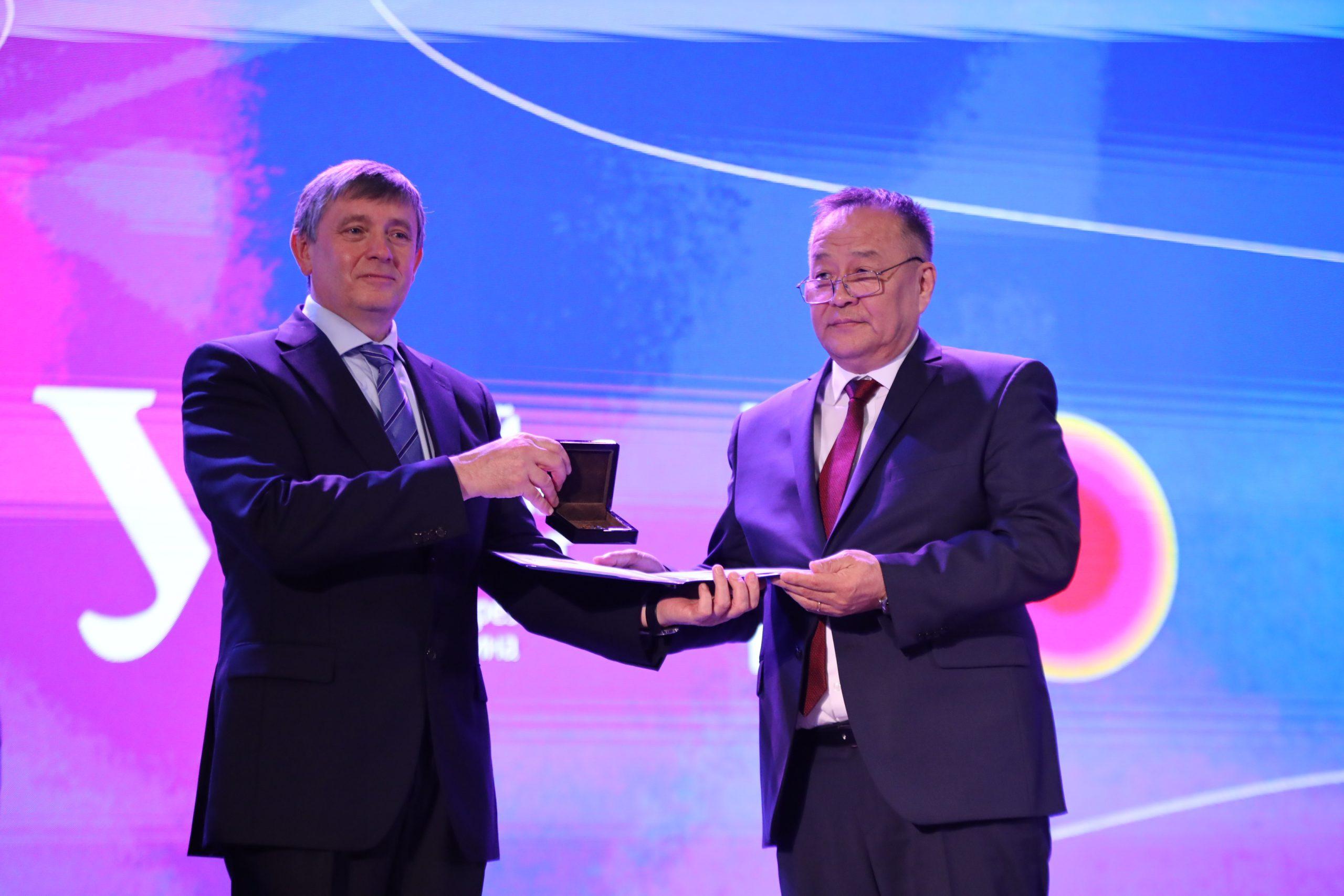 ОХУ-ын Ерөнхийлөгч асан Б.Н.Ельциний нэрэмжит Уралын Холбооны их сургуулийг Сүхбаатарын одонгоор шагналаа
