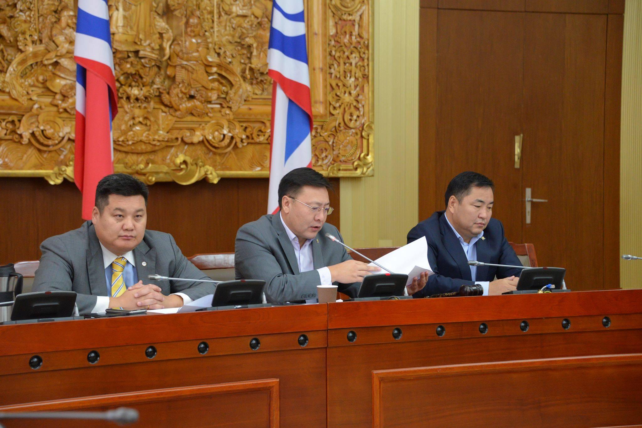 Монгол Улсын Үндсэн хууль зөрчсөн мөн ашиг сонирхолын зөрчилтэй Засгийн газрын бүрэлдэхүүнийг дэмжихгүй