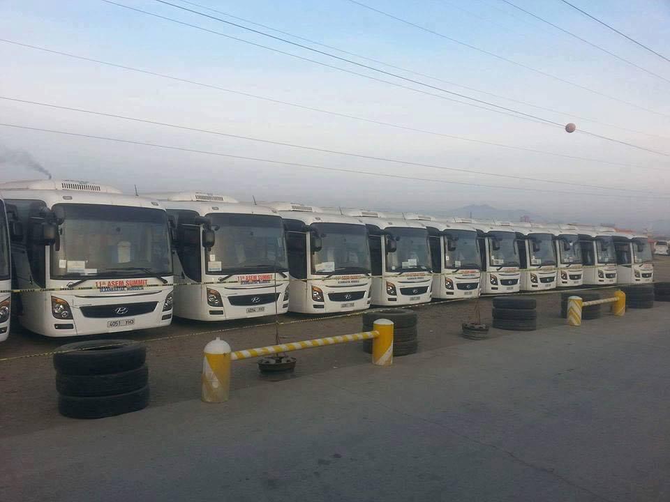 АСЕМ-ын автобусыг ашиглалтанд оруулъя
