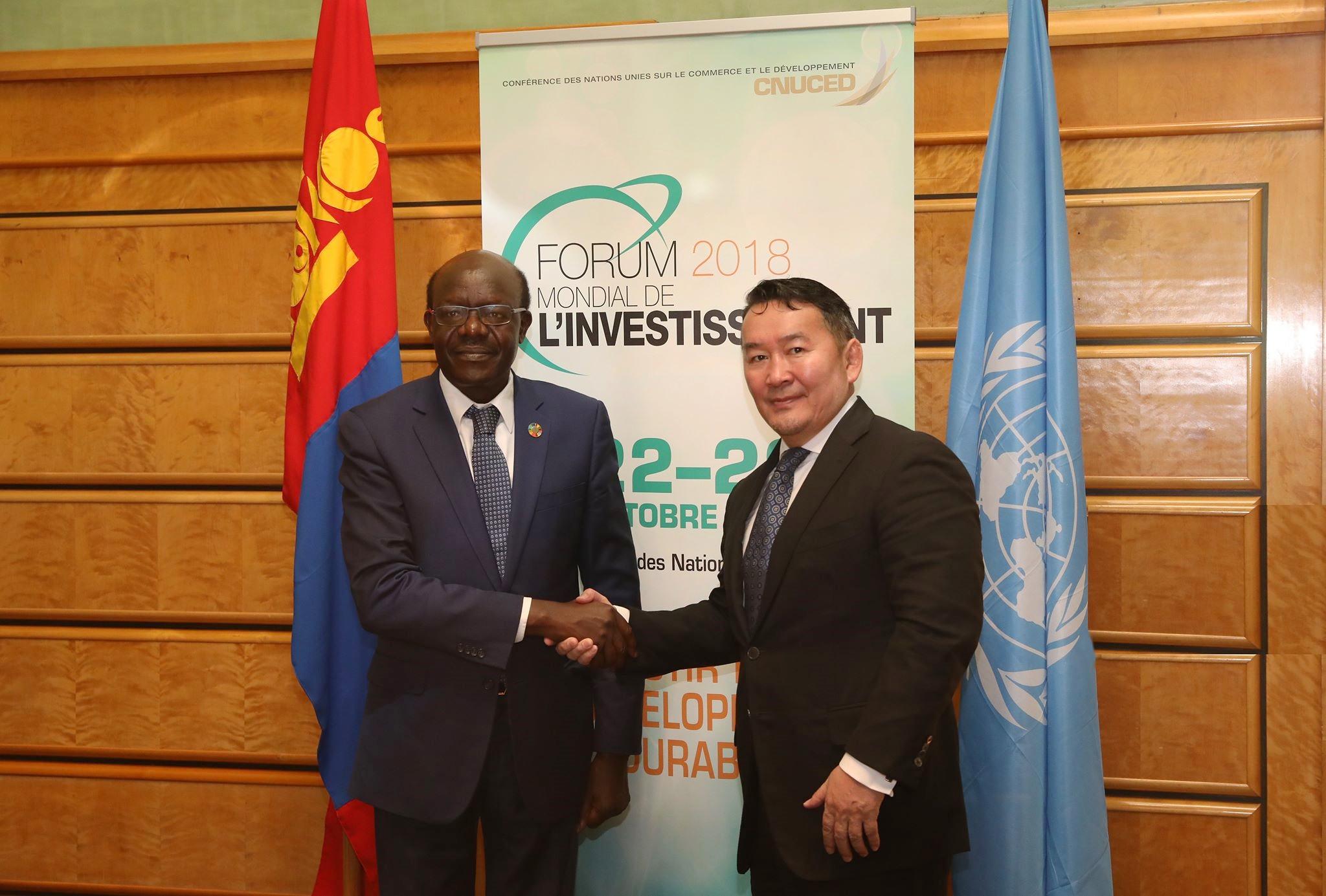 Монгол Улс далайд гарцгүй орнуудыг манлайлж ажиллана