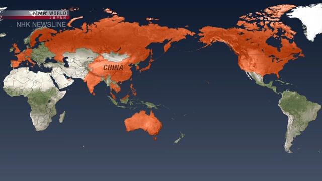 Хятадаас гадна бүртгэгдсэн коронавирусний халдварын тохиолдлын тоо 226 хүрчээ