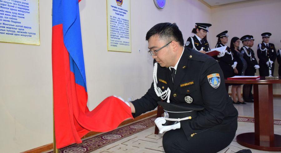 Монгол Улсын 87 байцаагч тангараг өргөв