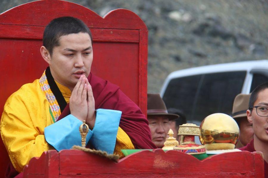 Наро Банчэн гэгээнтэн Алтай нутагт заларлаа