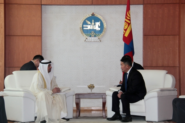 Монгол Улсын Ерөнхийлөгч Х.Баттулга Кувейт Улсаас Монгол Улсад суугаа Элчин сайд Халед Аль-Фадлиг хүлээн авч уулзав