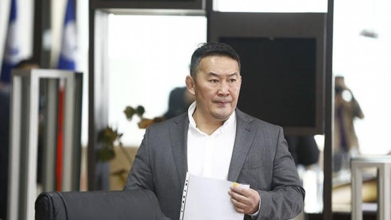 Монгол Улсын Ерөнхийлөгчийн Тамгын газраас оффшоорын асуудлаар олон улстай хамтран ажиллах тухайд Сангийн сайдад хандлаа
