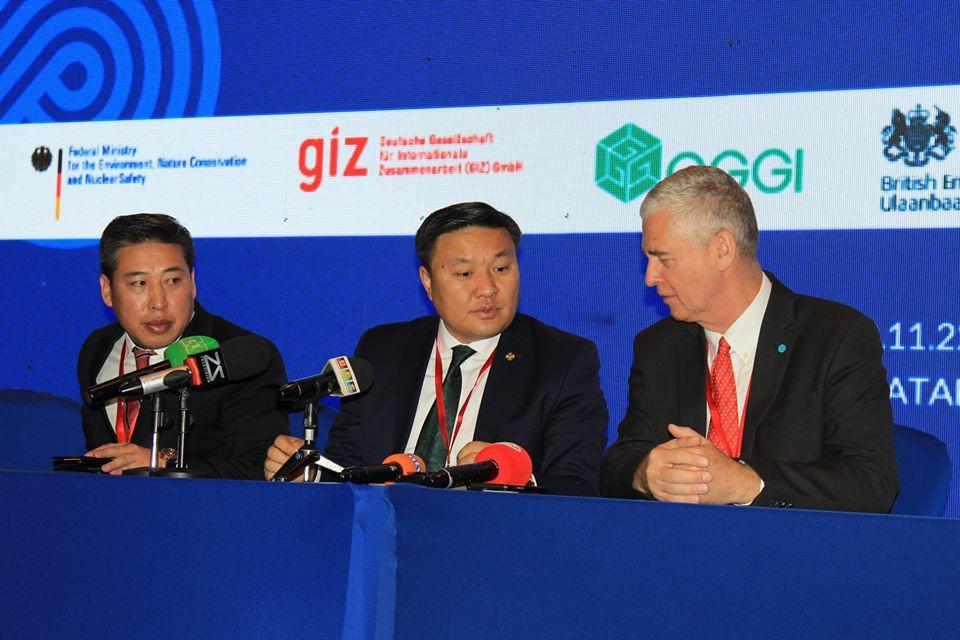 Н.Цэрэнбат:Монгол Улс хүлэмжийн хийн ялгарлыг 14 хувиар бууруулах зорилтоо ахиулан  22.7 болгож өсгөлөө