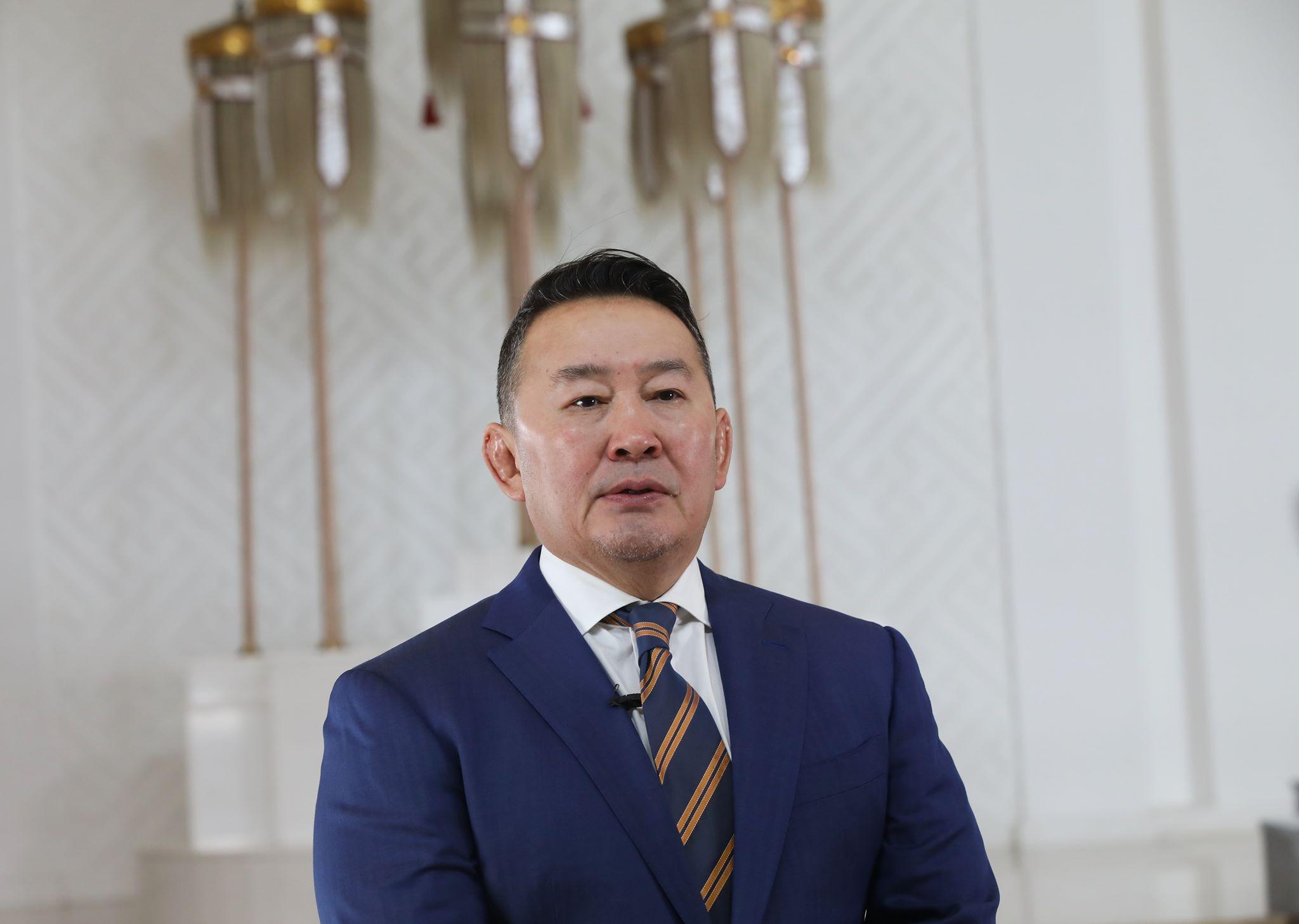 Монгол Улсын Ерөнхийлөгч Цагаан сарын баярыг настан буурлуудад хүндрэл, эрсдэл учруулах байдлаар тэмдэглэхгүй байхыг уриаллаа