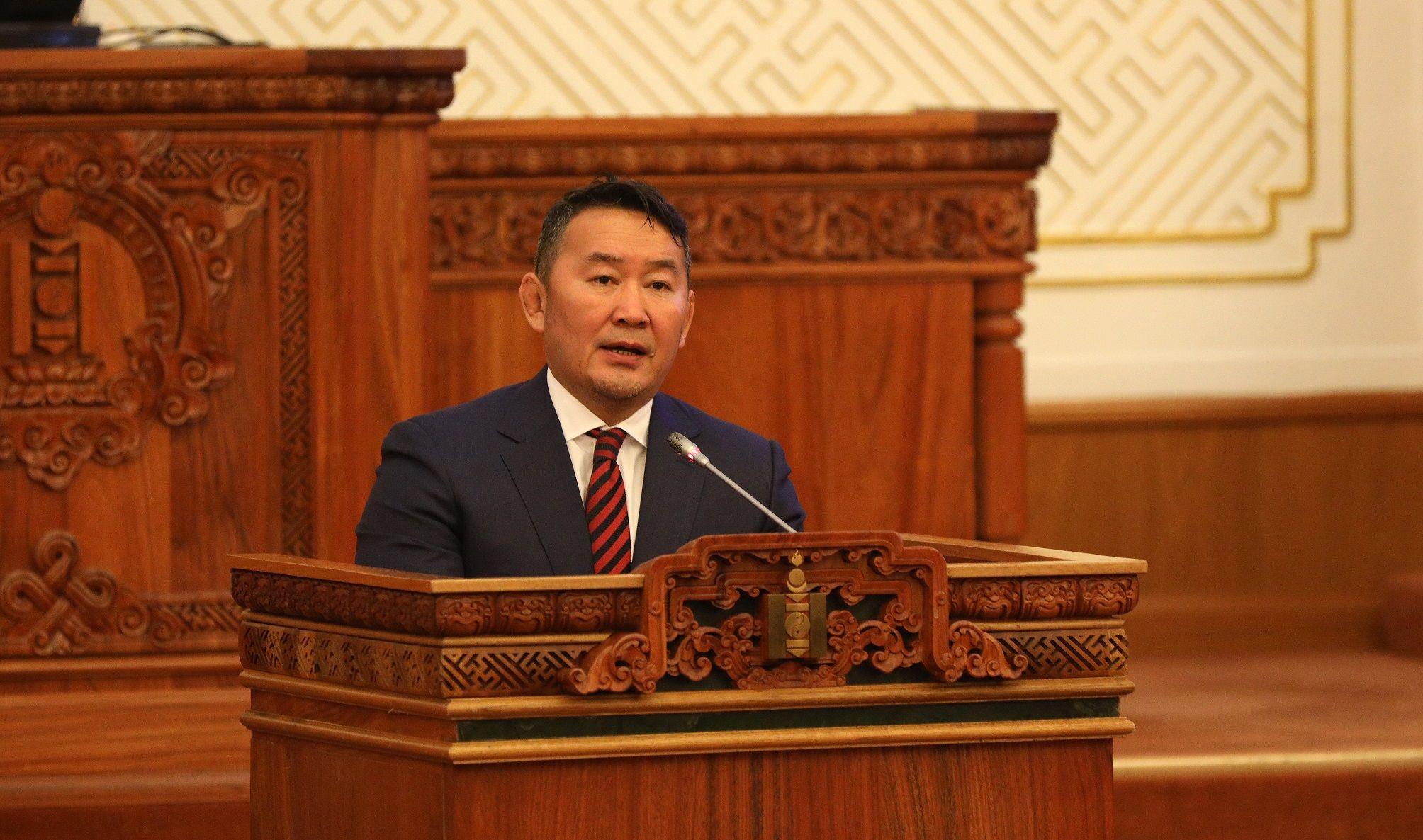 УИХ-ын намрын чуулганы нээлтийн үеэр Монгол Улсын Ерөнхийлөгч Х.Баттулгын хэлсэн үгийг бүрэн эхээр нь хүргэж байна