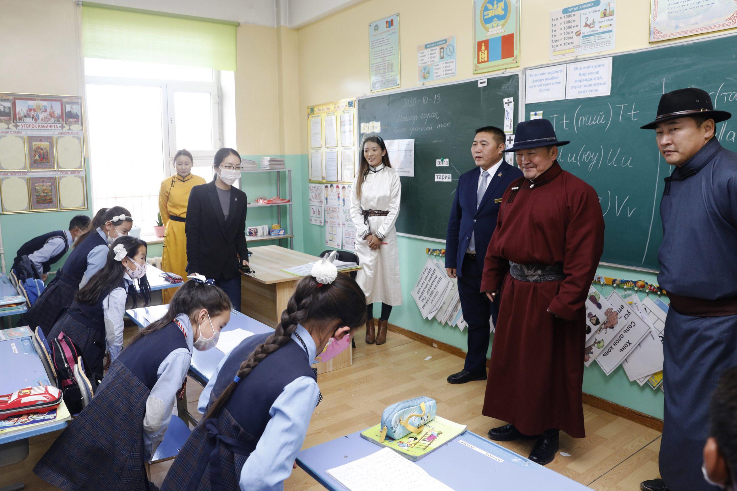 Монгол Улсын Ерөнхийлөгч Х.Баттулга Архангай аймагт ажиллалаа