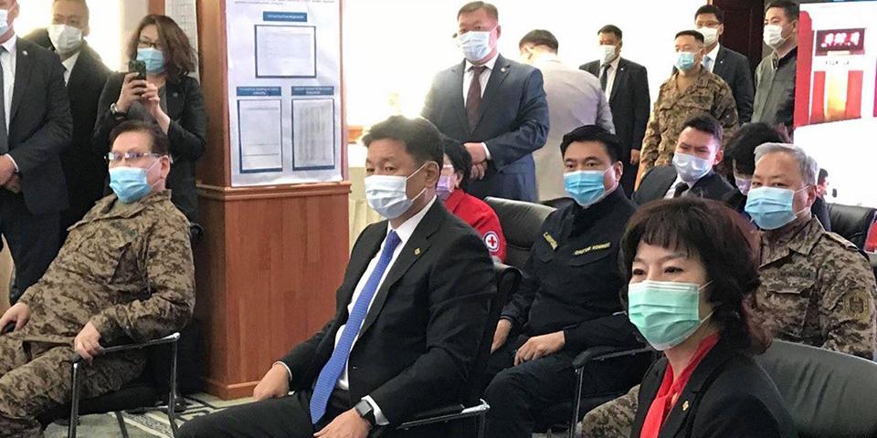 Монгол Улсын Ерөнхий сайд У.Хүрэлсүх дадлага сургуулилалтын үйл ажиллагаатай танилцлаа