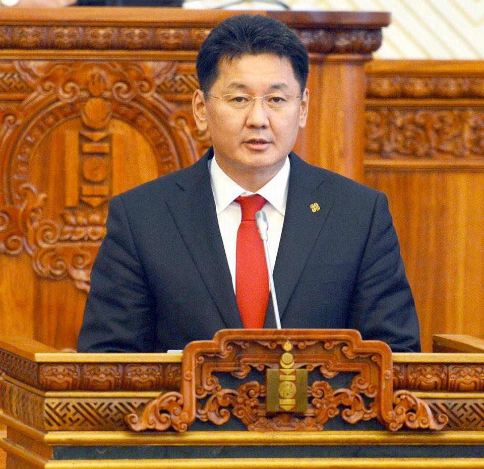 Монгол улсын ирэх оны төсвийг ерөнхий сайд У. Хүрэлсүх чуулганы нэгдсэн хуралдаанд танилцуулав