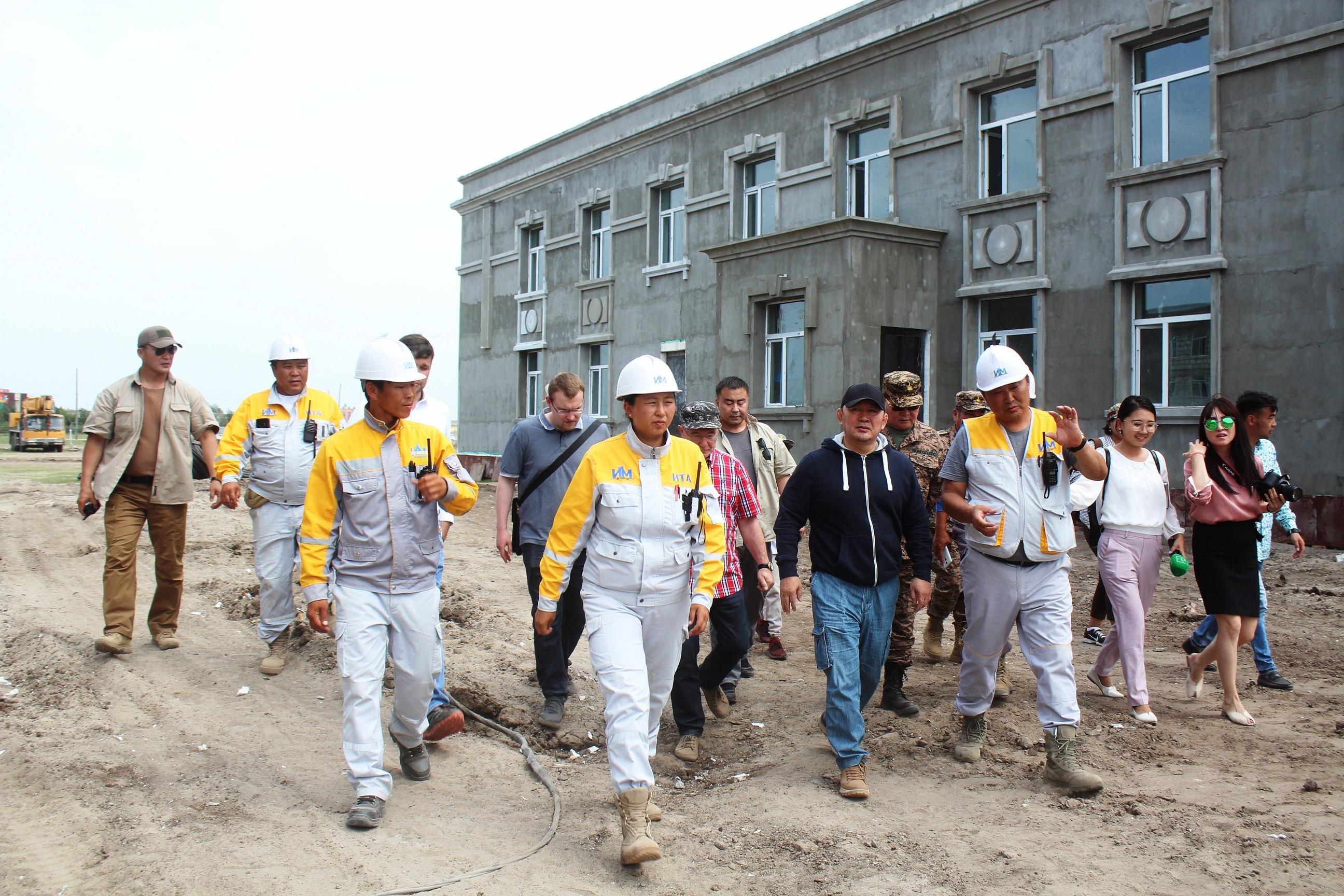 """Монгол Улсын Ерөнхийлөгч Х.Баттулга """"Шинэ сум"""" бүтээн байгуулалтын ажилтай танилцлаа"""