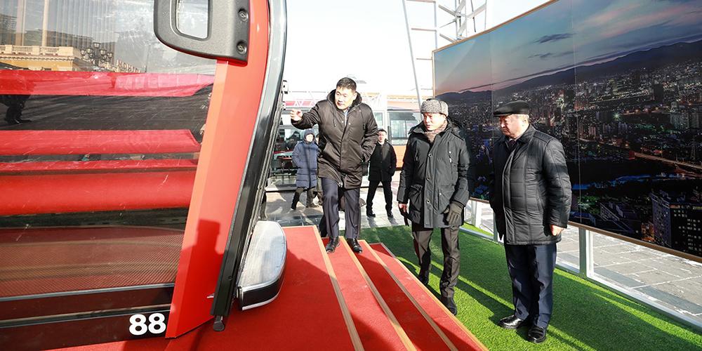 Нийслэлийнхэн цахилгаан соронзон галт тэрэг, агаарын такси, тусгай замын автобус, цахилгаан автобус, эко таксигаар зорчино
