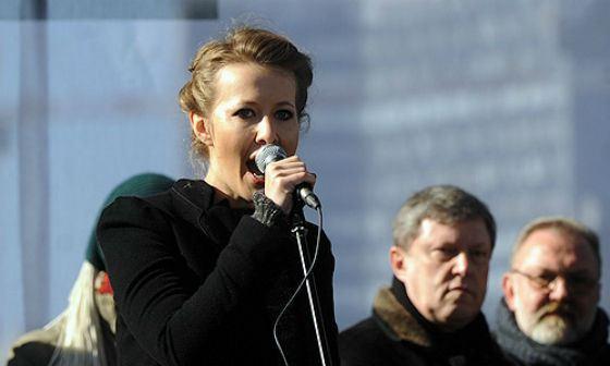 Ксении Собчак ОХУ-ын Ерөнхийлөгчийн сонгуульд өрсөлдөнө